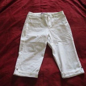Gloria Vanderbilt Capri Length Pants Missy Skimmer